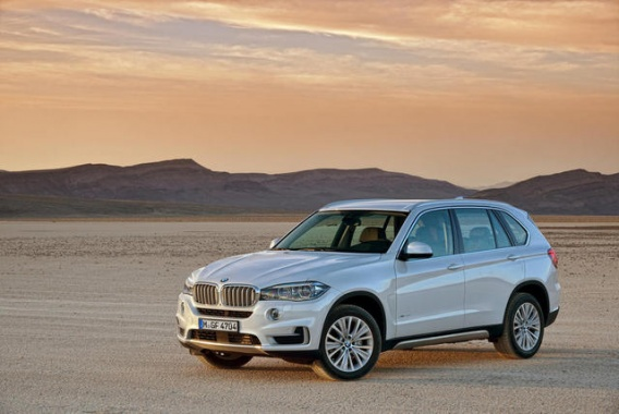 2014 BMW X5 Revealed with 3 Motor Versions