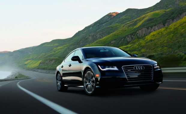 Audi A7 Enhanced by Fuel-Cell Power in Construction
