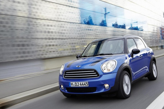 MINI Cooper Countryman, Paceman Receive ALL4 All-Wheel Drive