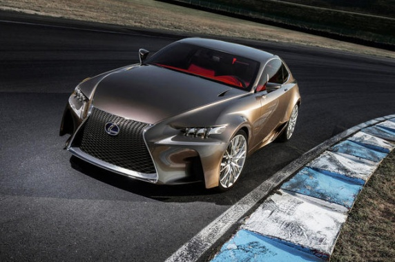 Lexus Reveals the Impact LF-CC Concept Made on the 2014 IS 350 F Sport