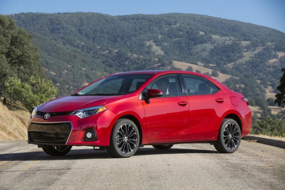 2014 Toyota Corolla Unveiled With Astonishing Fresh Appearance