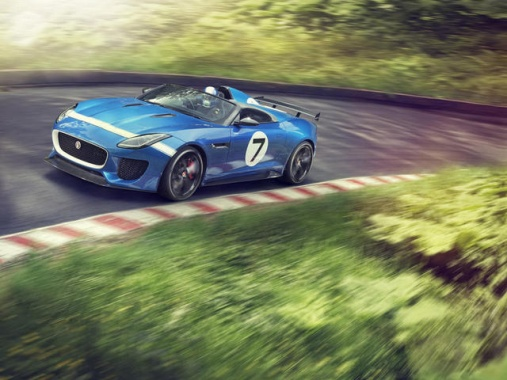 Jaguar Project 7 is a Retro-Branded Solo-Seater F-Type