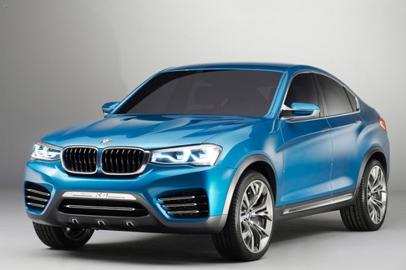 BMW prepares X4 crossover for 2014 debut