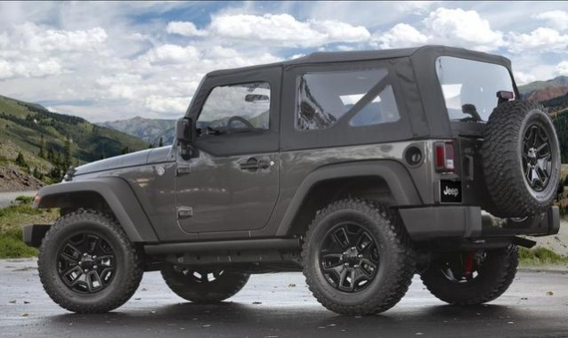 2014 Jeep Wrangler Willys Wheeler Debuts this Week