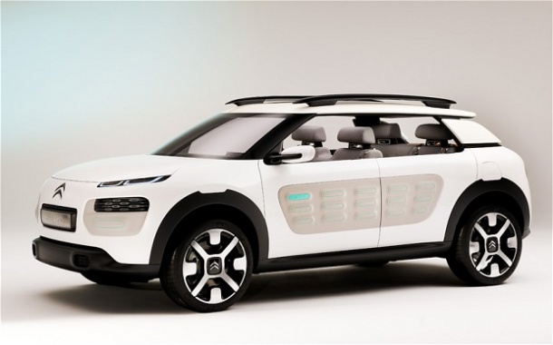 Pre-Launch Teasers of C4 Cactus from Citroen