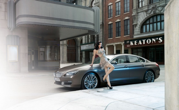 BMW 6 Series Gran Coupe Gets Ludicrous Style Photo Shoot