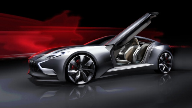 Eight Cylinders in a Spacious Engine Suggested for Hyundai Genesis Coupe