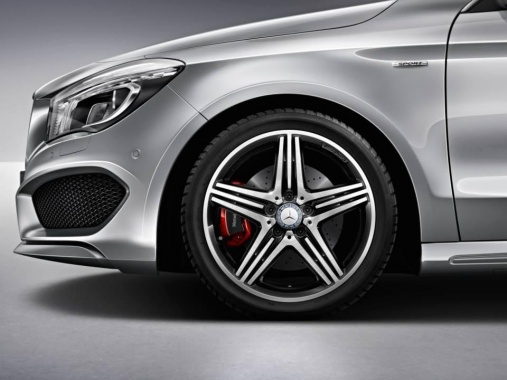New American Sport Package Plus for CLA250 from Mercedes