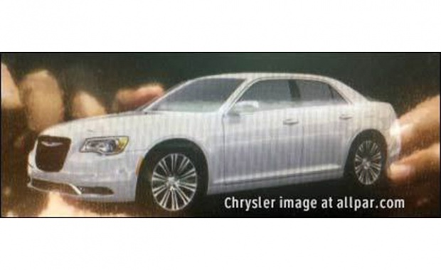 Revised Chrysler 300 Leaks before the Auto Show in Los Angeles