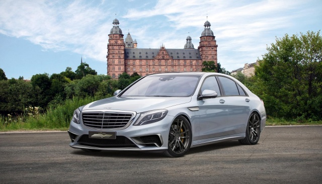 Mercedes-Benz S65 AMG Jumps to 720 HP Thankfully to Voltage Design