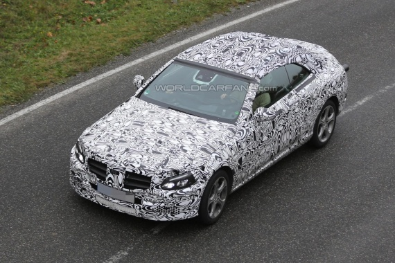 Mercedes-Benz C-Class Cabriolet Reveals Production Open Air in Last Spy Photos