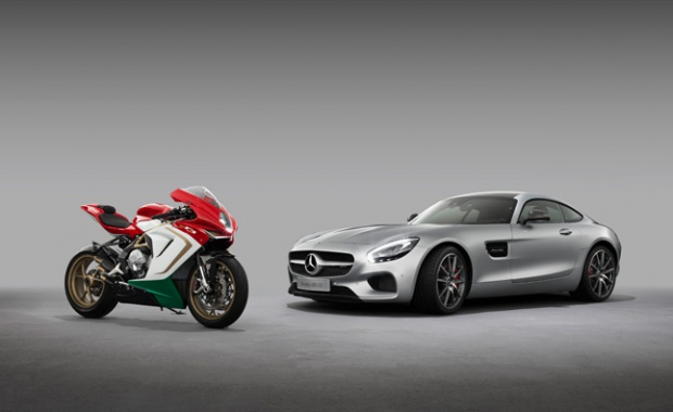 Mercedes-AMG Signs Cooperation with Motorcycle Maker
