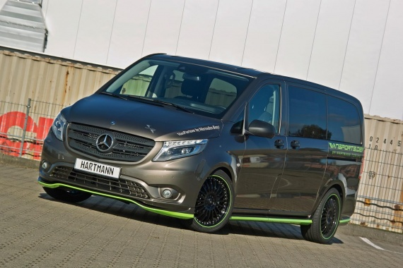 Hartmann Applies its Magic to the Mercedes-Benz Vito