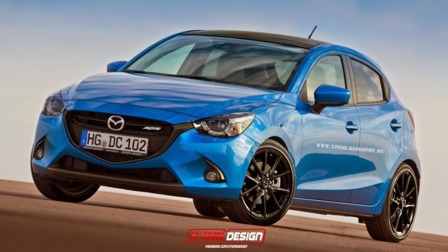 Mazda2 of 2015 Envisioned with MPS Treatment