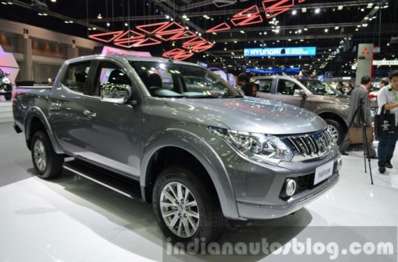 Mitsubishi Triton is Shown on the Images