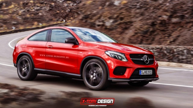 Mercedes-Benz GLE Coupe Envisioned Without Back Doors
