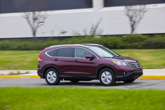 National Highway Traffic Safety Administration Gives 5* to Honda CR-V