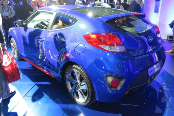 Modified Veloster from Hyundai to Appear before Public in Chicago