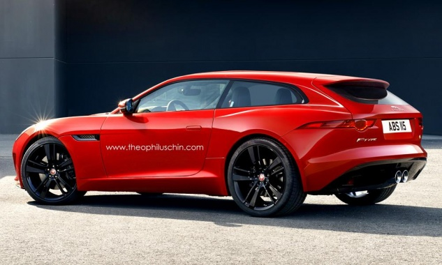 Shooting Brake Disguise by F-Type Jaguar