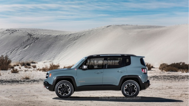 Details of 2015 Renegade from Jeep Available before Geneva Premiere