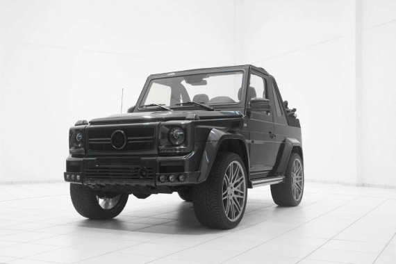 Brabus Version of G500 Convertible from Mercedes-Benz