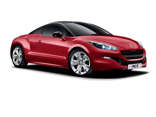 British Audience Welcomes RCZ Red Carbon from Peugeot