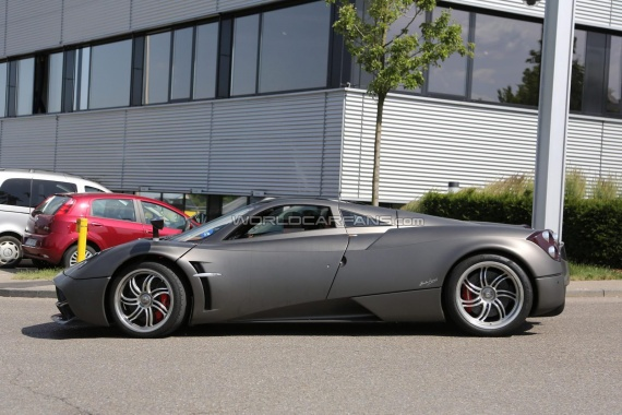 Nurburgring Leakage of Alleged Special Edition of Pagani Huayra