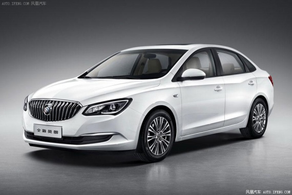 2015 Buick Excelle Presented with New Range of Engines