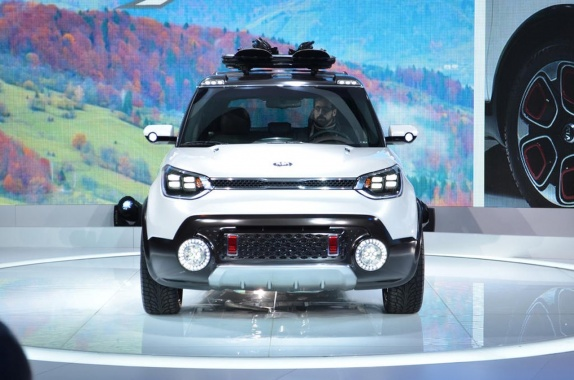 Kia Trail''ster Concept''s Outlook