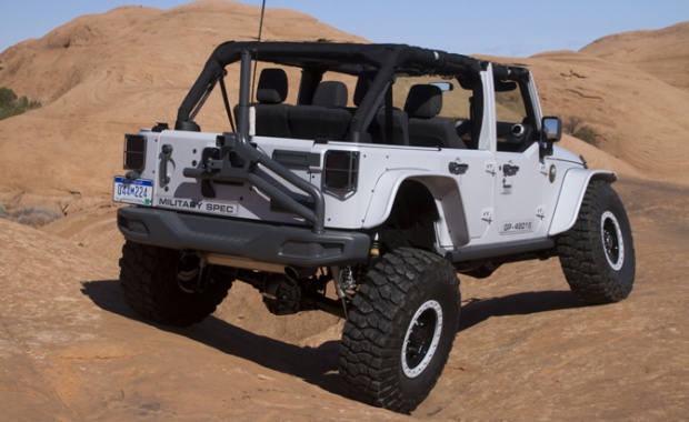 Live Axles in the Upcoming Jeep Wrangler