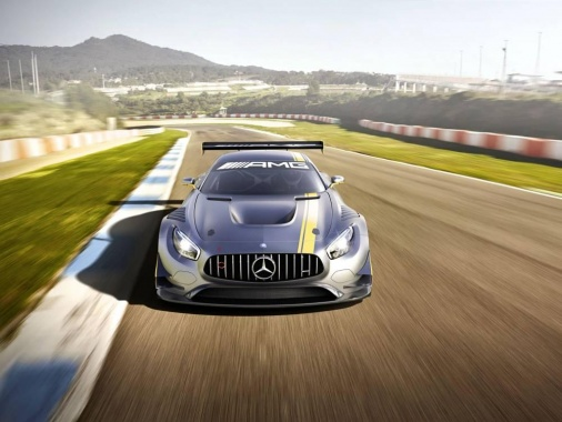 Photos of Mercedes-AMG GT3 Hit the Web