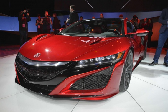 More Info about the 2016 NSX with 3.5-Litre Engine