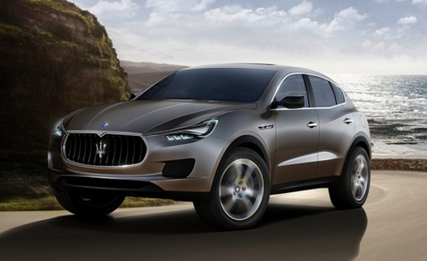 Maserati Levante will be presented in January of 2016
