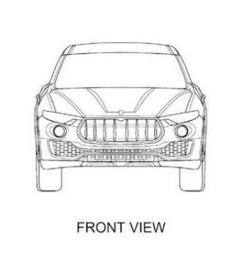 Prior Review of the Levante from Maserati in Design Patents