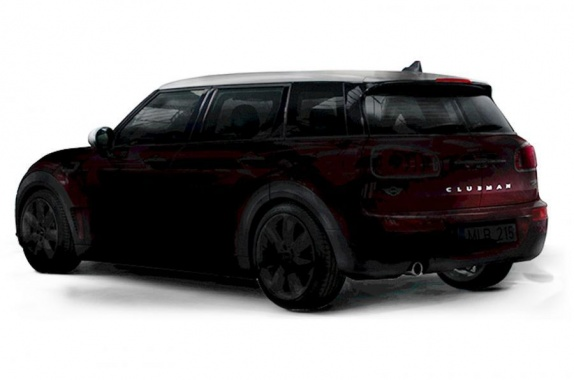 See Teaser of 2016 MINI Clubman before its Presentation in Frankfurt