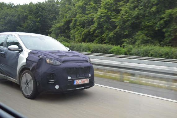 2016 Kia Sportage was spotted on the Autobahn in Germany