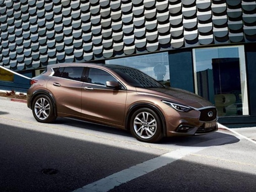 Promotional Photo Release of 2017 Infiniti Q30 before the Official Premiere