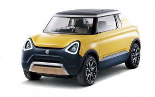 MIGHTY DECK Mini-Car Concept from Suzuki in Tokyo