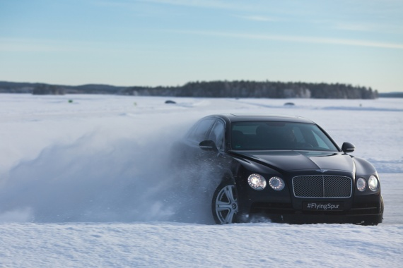 Power on Ice Event will Show off Bentley Bentayga