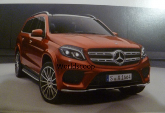 See Pictures of GLS-Class SUV from Mercedes on the Web