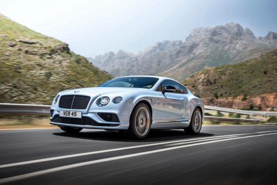 Risk of a Fire Hazard provoked the Bentley Continental Recall