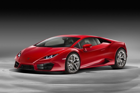 Meet Huracan LP580-2 with 580 HP from Lamborghini