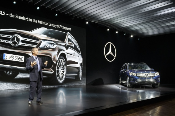 2017 GLS from Mercedes will be introduced in LA