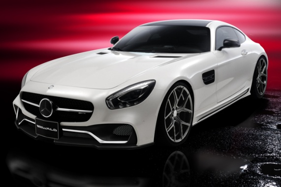 Design Pack for the Mercedes-AMG GT from Wald International