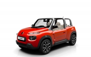 Wait for the Citroen E-MEHARI Next Spring