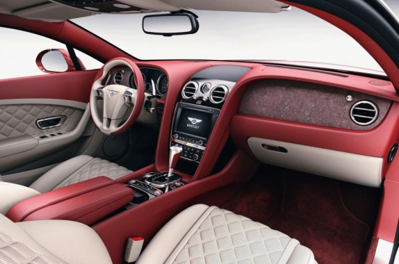 200-Million-Year-Old Stone was used by Bentley to create a Dash Veneer