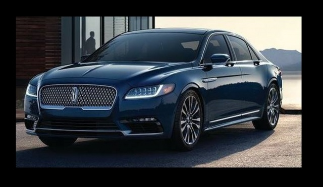 An Upscale Variant of 2017 Lincoln Continental