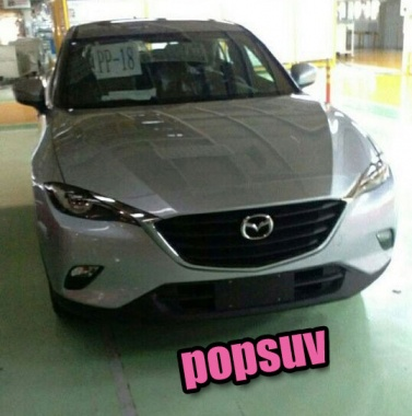 New CX-4 Crossover from Mazda was spotted without Camouflage