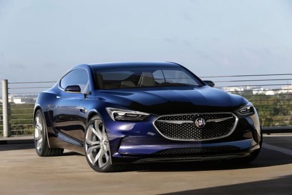 Possibility of a 4-Door Coupe Spawned from Buick Avista Concept