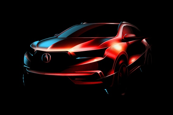New York, Meet the 2017 Acura MDX!